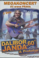 "DVD H - JANDA, DALIBOR-""60"" MEGAKONCERT O2 ARENA"