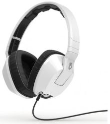 SKULLCANDY Crusher w/Mic 1 (biele) - slúchadlá s mikrofónom