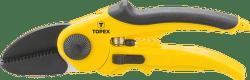 TOPEX Nožnice záhradné nákovkové 220 mm, čepeľ: 51 mm