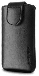 Fixed puzdro Sarif so zatváraním, PU koža, veľkosť 6XL, čierna