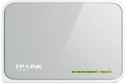 TP-LINK TL-SF1005D 5-port 10/100M mini Desktop Switch