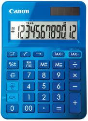 CANON LS-123K-MBL, blue - stolná kalkulačka