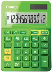 CANON LS-123K-MGR, green - stolná kalkulačka