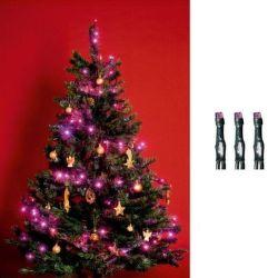 SOMOGYI KI 200 LED/P LED reťaz, 200ks, pink