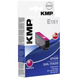 KMP E151 (T2633) 26XL Epson (ružová)
