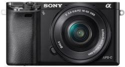 Sony Alpha 6000 čierny + 16-50mm