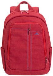 """RIVACASE batoh na notebook 15,6"""", červená"""