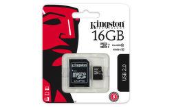 Kingston 16 GB Micro-SDHC UHS-I Class 10