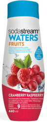 Sodastream Waters Zero brusnicovo-malinový sirup (440 ml)