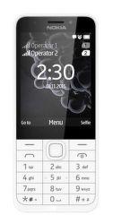 Nokia 230 Dual SIM strieborný