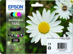 EPSON T1816 18XL color (sedmokráska) - atrament