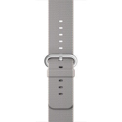 Apple MMA72ZM/A, 42mm - Tkaný nylonový remienok (perleťový)
