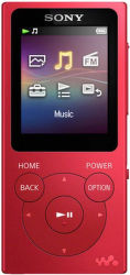 Sony NW-E393R 4GB (červený)