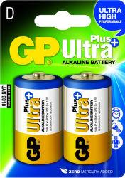 GP Ultra Plus mono D (LR20) 2ks (B1741)