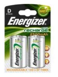 Energizer Rech Power Plus D 2500 FSB2