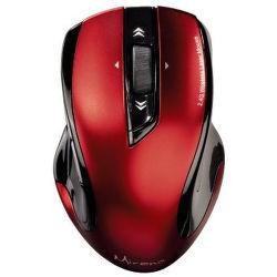 HAMA 53877 Mirano bezdrôtová laserová myš, červeno-čierna