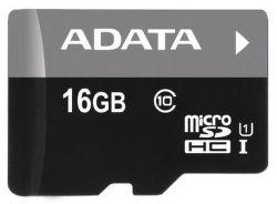 ADATA Micro SDHC karta 16GB UHS-I Class 10, Premier