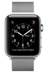 Apple Watch Series 2 42mm (nerez oceľ / strieborný milánsky ťah)