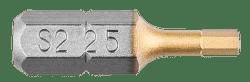 GRAPHITE imbus 2,5 x 25 mm, 2 Bity
