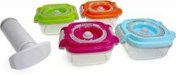 STATUS Baby set 4ks + pumpa - Vákuové dózy