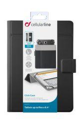 """CellularLine CLICK CASE 8,4"""" (čierne)"""