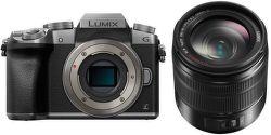 Panasonic Lumix DMC-G7 + G Vario 14-140mm (strieborný)