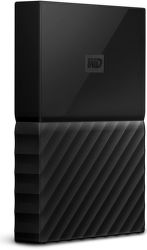 "WD My Passport 2,5"" 4TB USB 3.0 (čierny)"