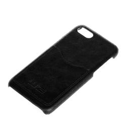 Winner iPhone 7 čierne kožené puzdro