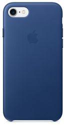 Apple iPhone 7 Sapphire modré kožené puzdro