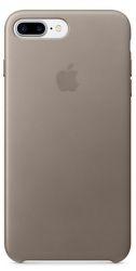 Apple kožený kryt pre iPhone 7 Plus, dymový