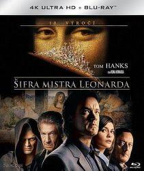 Šifra mistra Leonarda - 2xBD (Blu-ray + 4K UHD film)