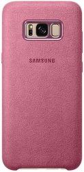 Samsung Alcantara Cover EF-XG955 Galaxy S8+ ružový