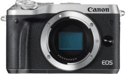 Canon EOS M6 strieborný + EF-M 15-45mm IS STM