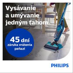 45 dní záruka vrátenia peňazí na tyčové vysávače Philips
