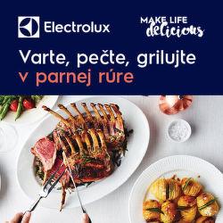Kurz varenia v pare k parnej rúre Electrolux