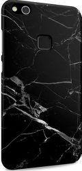 I-Paint čierne mramorové puzdro na Huawei P10 Lite