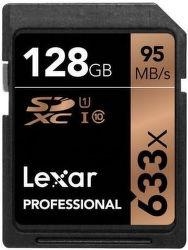 Lexar Professional 128GB SDXC 633x UHS-I U1 Class 10