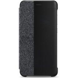 Huawei P10 Lite flipové sivé puzdro