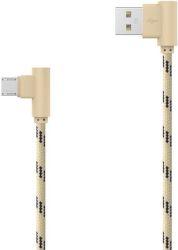 MOBILNET Micro USB kábel 2m, zlatý