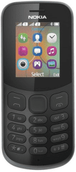 NOKIA 130 2017 Dual SIM čierny