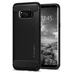 SPIGEN Samsung Galaxy S8 Plus Case Rugged Armor, čierna