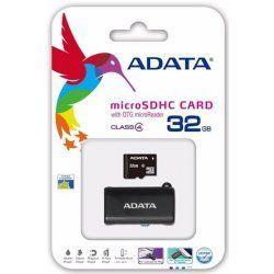 ADATA microSDHC 32 GB Class 4 + OTG USB čítačka