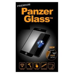 Panzerglass Premium tvrdené sklo pre Apple iPhone 8/7/6S/6 Plus, čierna