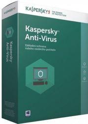 Kaspersky Anti-Virus 2017 3 PC / 1 rok + 3 mesiace zdarma
