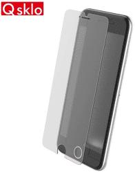 QSKLO sklenená fólia pre iPhone X, transparentná