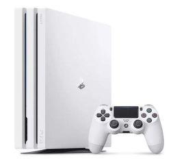 Sony PlayStation 4 Pro biela