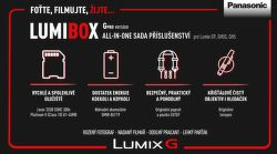 Panasonic LumiBox sada príslušenstva pre G-pro verzie pre Lumix G9, GH5 a GH5S