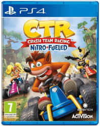 Crash Team Racing Nitro Fueled PS4 hra