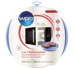 Wpro DFG 270, univerzálny tanier do mikrovlnej rúry 27cm
