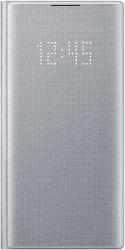 Samsung LED View puzdro pre Samsung Galaxy Note10, strieborná